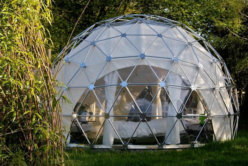 Double Dome The Dome Garden