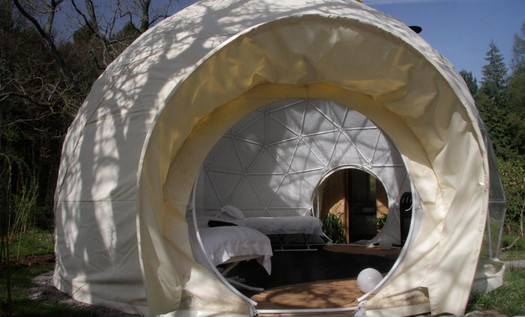 ... IMG_6070 ... & Luxury Glamping Holidays in the UK - The Dome Garden